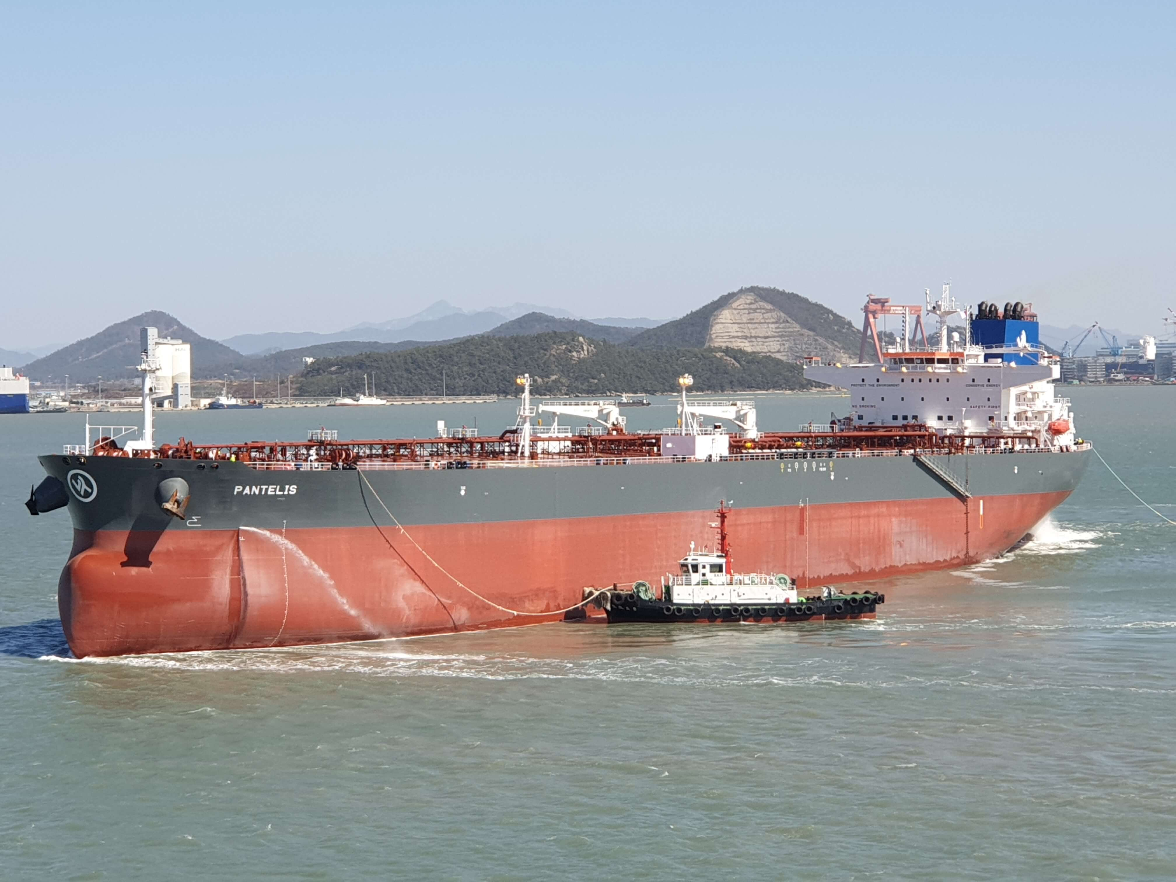 Delivery of M/T Pantelis
