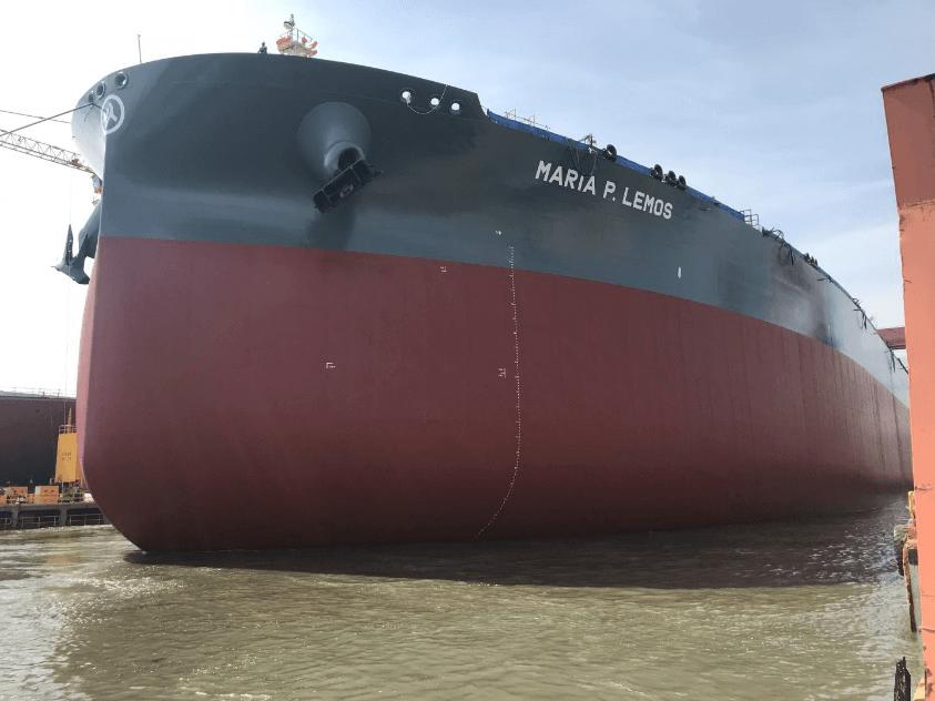 Launching of newbuilding VLCC H.N. 2960