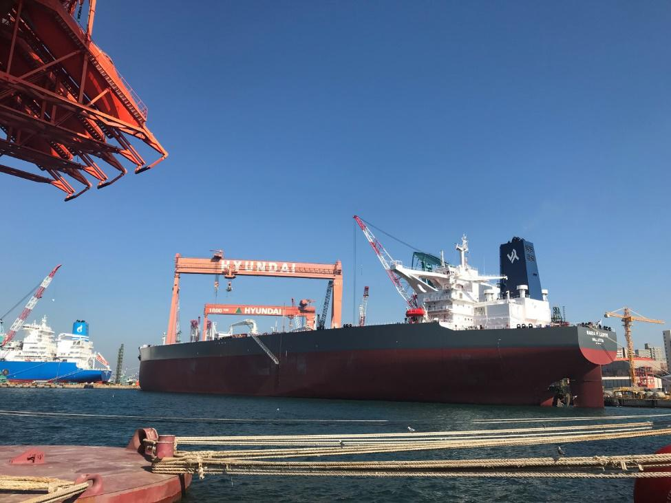 Delivery of M/T Maria P. Lemos